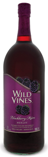 Wild Vines Merlot Blackberry 1.50l - Case of 6